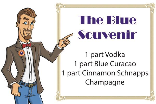 Fred with Blue Souvenir recipe