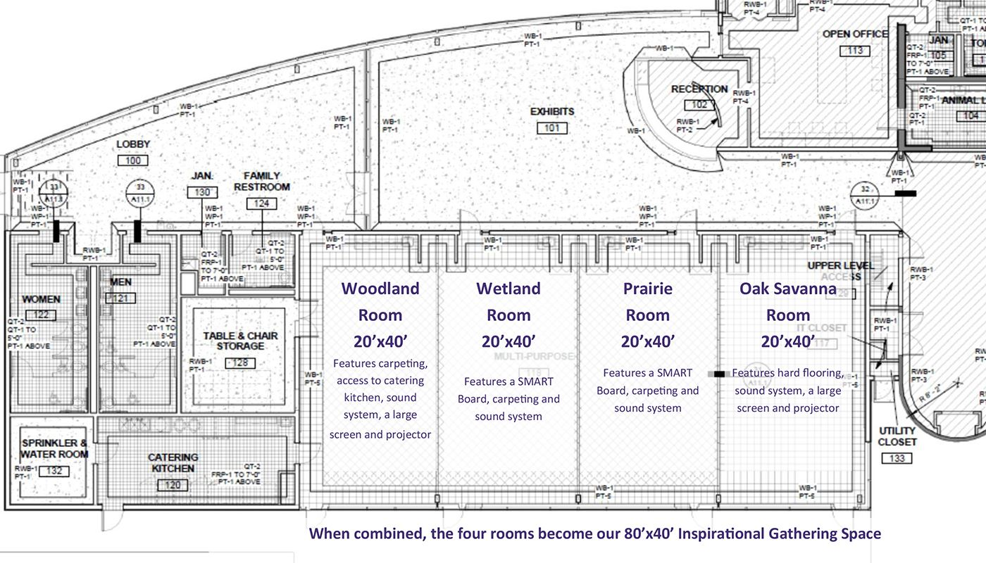 Rental Space Diagram