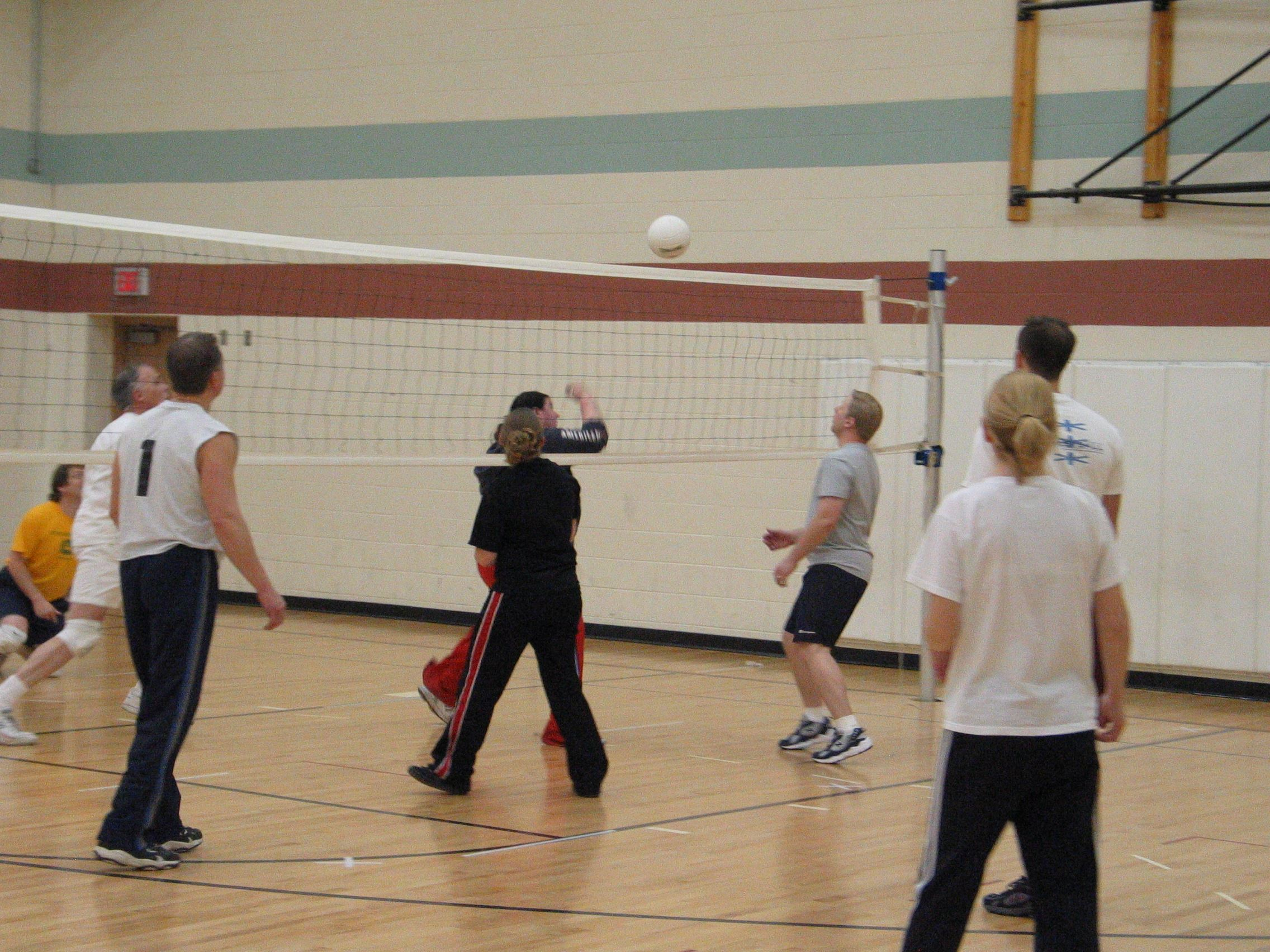 adult volleyball