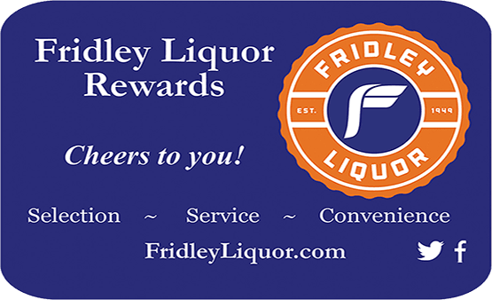 Fridey Liquor Rewards Card